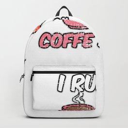 Sushi Rolls Coffee Drinker Backpack