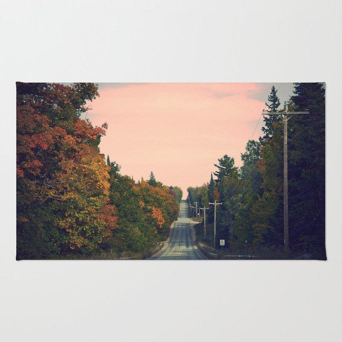 Long Road Ahead  Rug