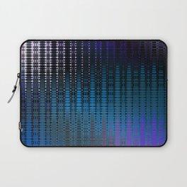 Retro Grid Nightclub Lights Laptop Sleeve