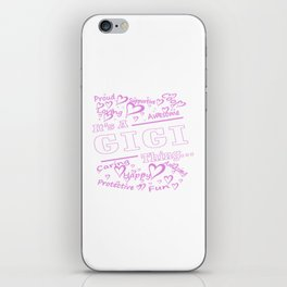 IT'S A GIGI THING iPhone Skin