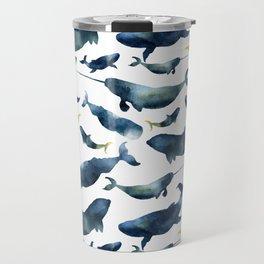 Dreams of whales Travel Mug