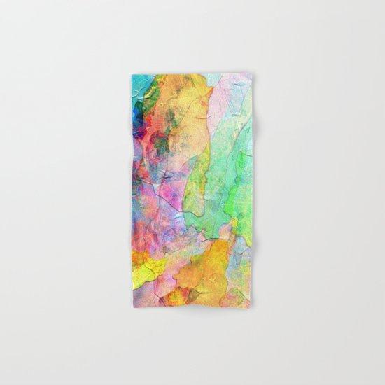 Abstract Texture 01 Hand & Bath Towel
