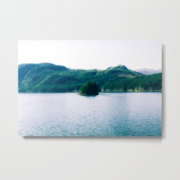Lonely Island Metal Print