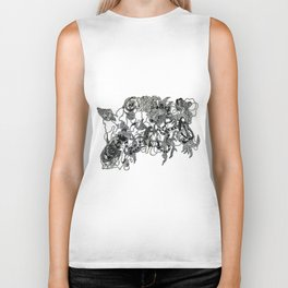The Anatomy of Thought 3 Biker Tank