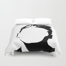 Morrisey-vacant expression Duvet Cover