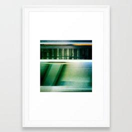 On The Move Framed Art Print