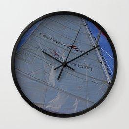 A Cayman Sail I Wall Clock