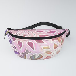 Pink Blooms Fanny Pack