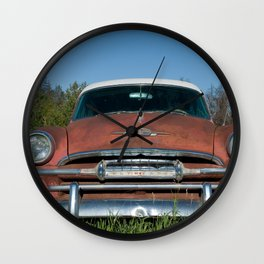 Retired Plymouth Wall Clock