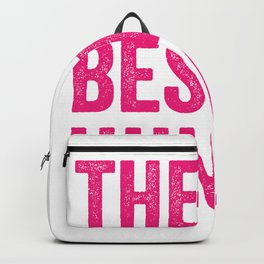 The Best Huncle The Best Uncle Handsome Uncle Quote  Backpack