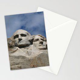 George Washington And Thomas Jefferson  - Mount Rushmore Stationery Cards