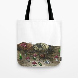Little Worlds: The Harvest Tote Bag
