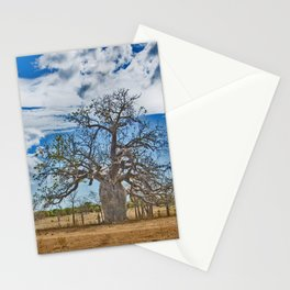 Build up and Boab Stationery Cards