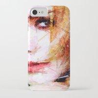 emma watson iPhone & iPod Cases featuring Emma Watson by Raditya Giga