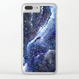 vast space Clear iPhone Case