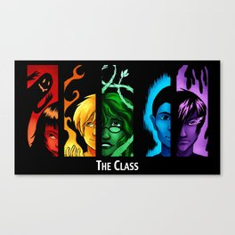 The Class Bookmark Print Canvas Print