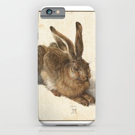 Young Hare iPhone Case