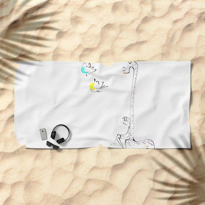 haritsadee 12 Beach Towel