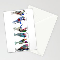 racers 6 Stationery Cards