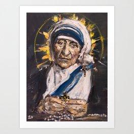 Saint Mother Teresa of Calcutta Art Print