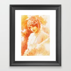 Old memories Framed Art Print