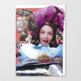 Vicky Fung Fantasy  Canvas Print
