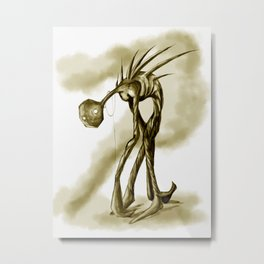 Inner Demon Metal Print