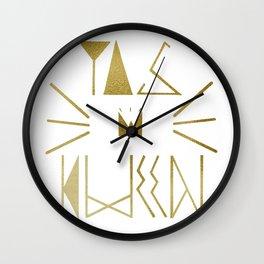 YAS KWEEN Wall Clock