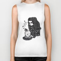 aries Biker Tanks featuring Aries by Justell Vonk