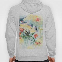 Hummingbirds Secret Garden Hoody
