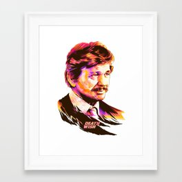 Charles Bronson: BAD ACTORS Framed Art Print