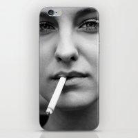 smoking iPhone & iPod Skins featuring smoking by kuzmafoto