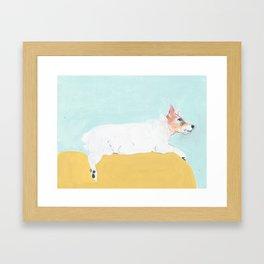 Doggone World Framed Art Print