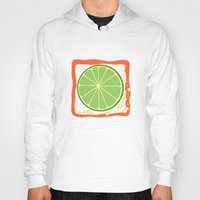 lime Hoodies featuring LIME by Tanya Pligina