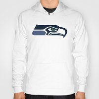 patriots Hoodies featuring Seahawks by loveme