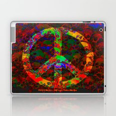 PEACE SKULLS Laptop & iPad Skin