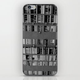Block of flats. Bee project.  iPhone Skin