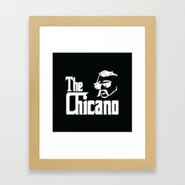 The Chicano (Godfather) Framed Art Print