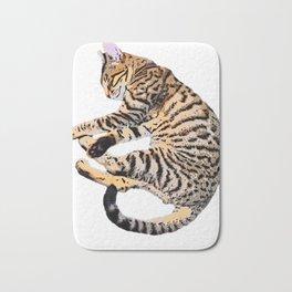 Bengal Kitty Nap Bath Mat
