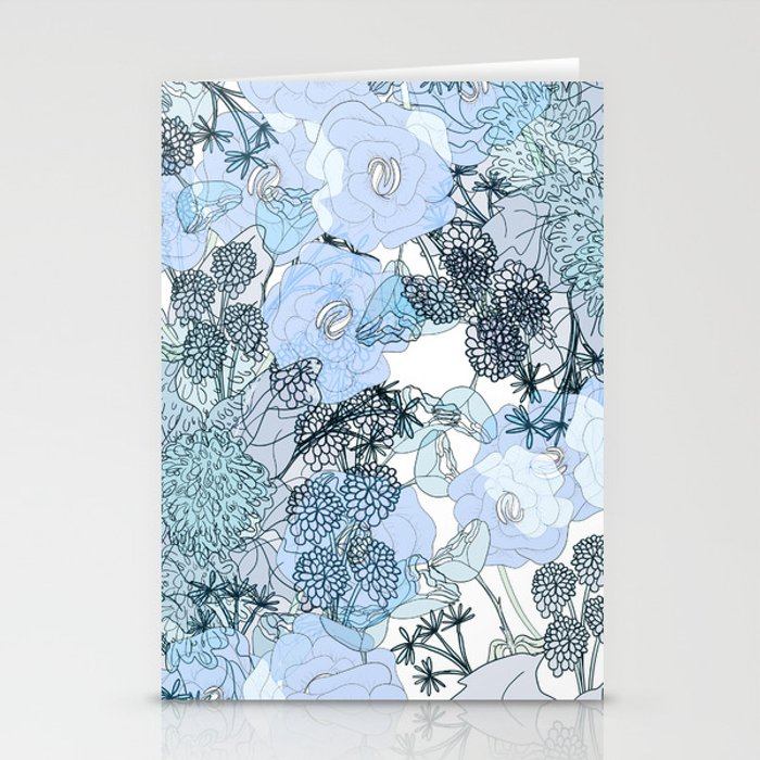 Blue is your color Stationery Cards