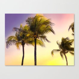 PURPLE AND GOLD SKIES 3 Canvas Print