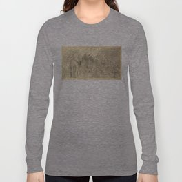 Vintage Map of The Colorado River (1858) Long Sleeve T-shirt
