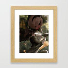 2b - Nier:Automata Framed Art Print