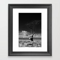 The Player 2 Framed Art Print