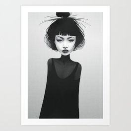 You Never Knew Art Print