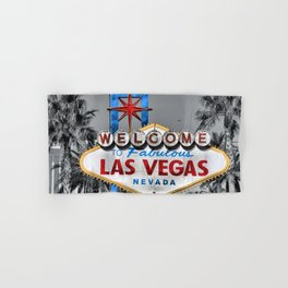 Welcome to Fabulous Las Vegas Hand & Bath Towel