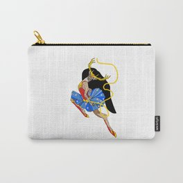 One Deer Woman Carry-All Pouch