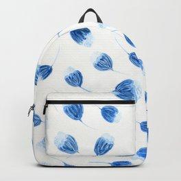 Little Blue Flowers Backpack