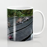 boardwalk empire Mugs featuring Boardwalk by Jennita Cécile