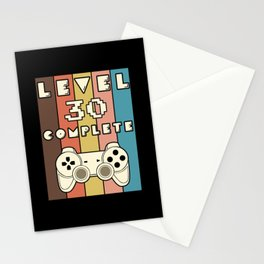 Level 30 Completed Gamin Stationery Cards